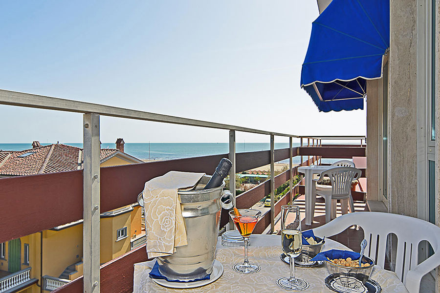 Balcone camera vista mare hotel Areion, hotel a Forte Dei Marmi