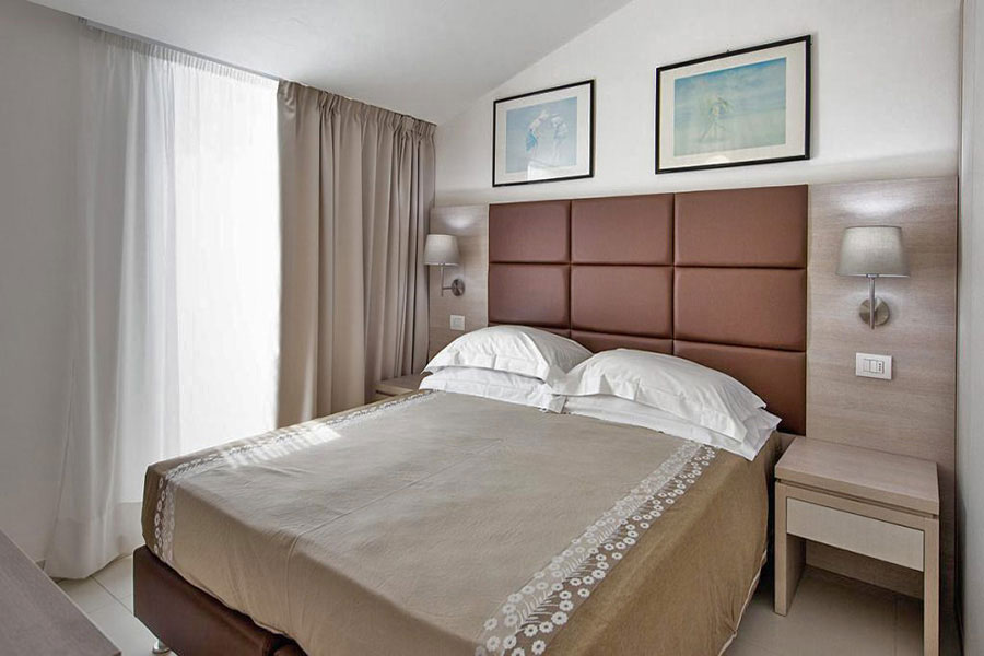 Hotel a Lido di Camaiore, Camera Matrimoniale Hotel Capri&Residence